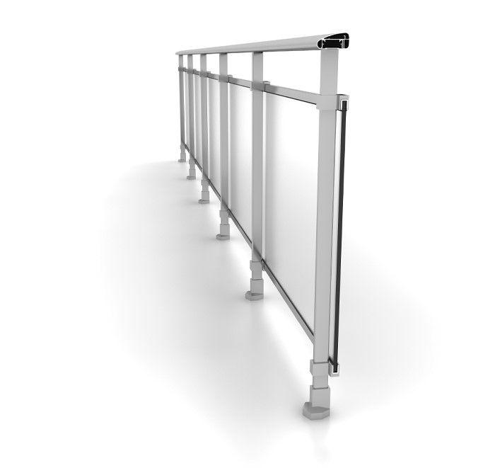 Barandillas - Escaleras con barandilla de cristal ...