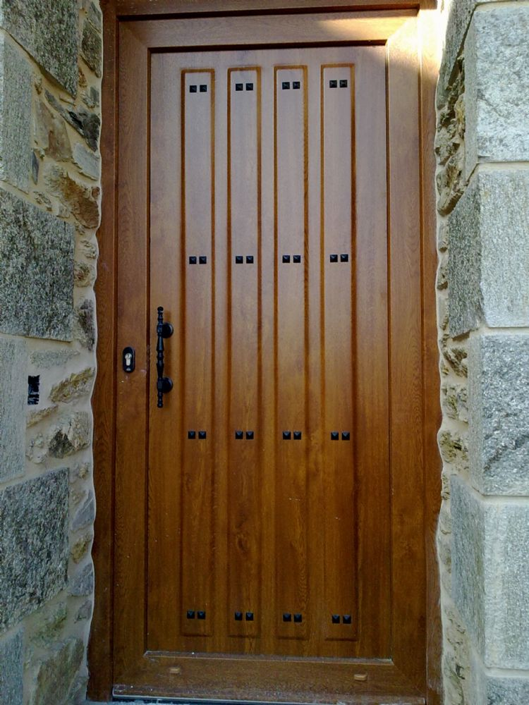 Puertas rusticas de aluminio top kit instalacion puerta - Instalacion puertas correderas ...