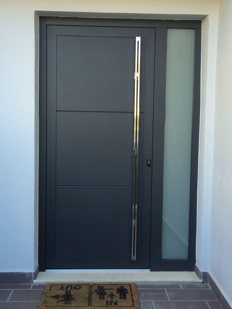 Puertas de entrada for Puertas de vidrio para entrada principal